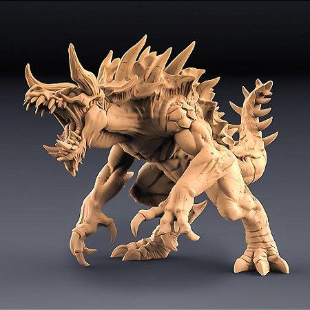 Tarrasque, Devorador Lendário - Chefe Épico - Miniatura Artisan Guild