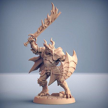 "Guarda ""A"" - Guarda Dracônica - Miniatura Artisan Guild"