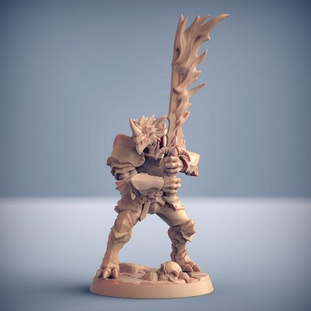 "Guarda ""B"" - Guarda Dracônica - Miniatura Artisan Guild"
