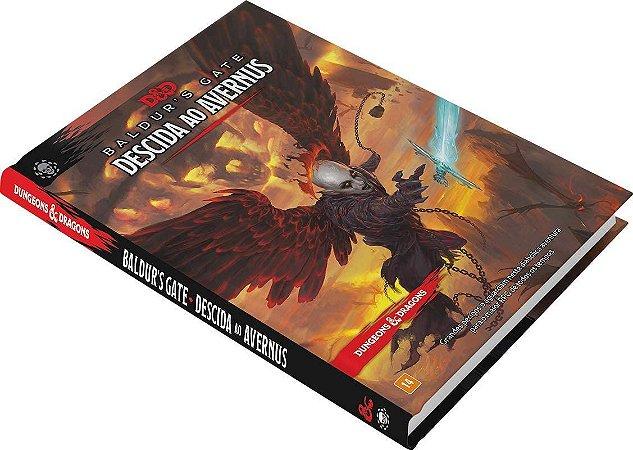 KIT Descida ao Avernus + Escudo do Mestre - DUNGEONS AND DRAGONS 5ª Ed (em português)
