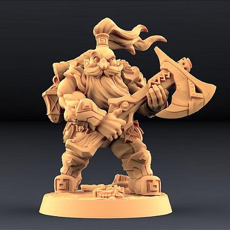 """Perjurador """"B"""" - Perjuradores Anões - Miniatura Artisan Guild"""