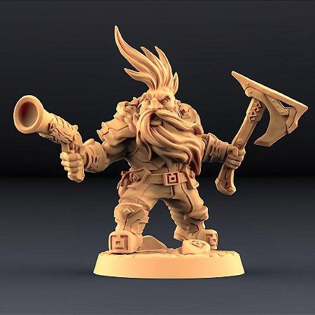 """Perjurador """"C"""" - Perjuradores Anões - Miniatura Artisan Guild"""