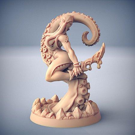 Zixrya, Beleza das Profundezas (Pin Up) - Salteadores das Profundezas - Miniatura Artisan Guild