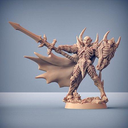 Drakenmir, Senhor dos Ossos - Vampiros Sem Alma - Miniatura Artisan Guild
