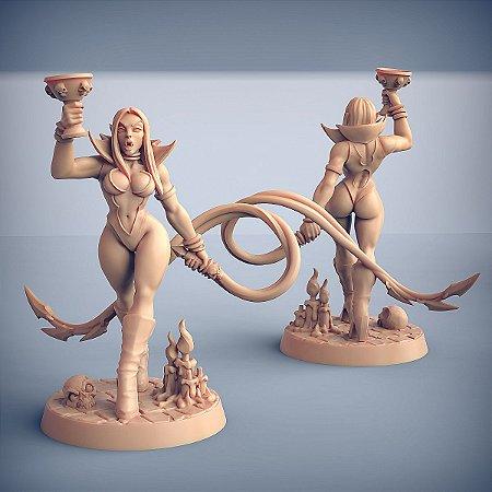Maligna - Vampiros Sem Alma - Miniatura Artisan Guild