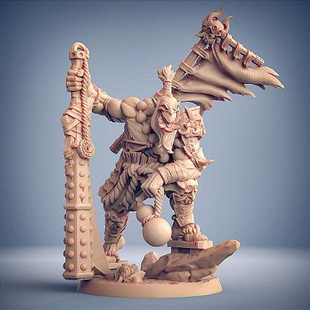 Yoshigruzu - Clã dos Oni - Miniatura Artisan Guild