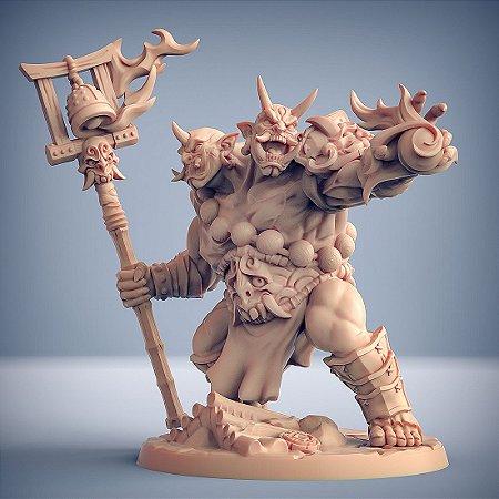 Goraku, Ogro Mago - Clã dos Oni - Miniatura Artisan Guild