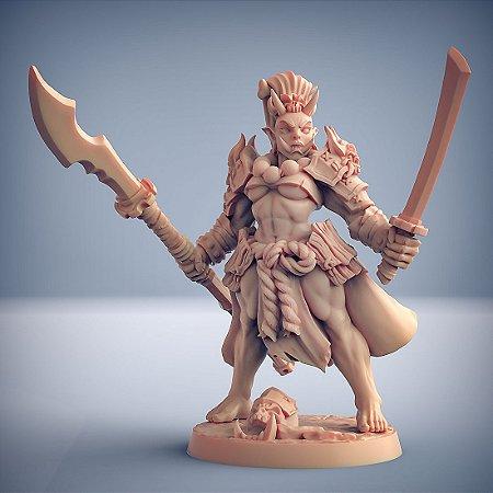 "Oni ""D"" - Clã dos Oni - Miniatura Artisan Guild"