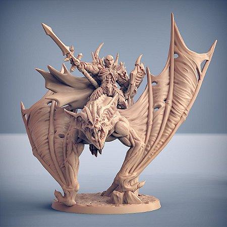 Drakenmir e Morcego Atroz - Vampiros Sem Alma - Miniatura Artisan Guild