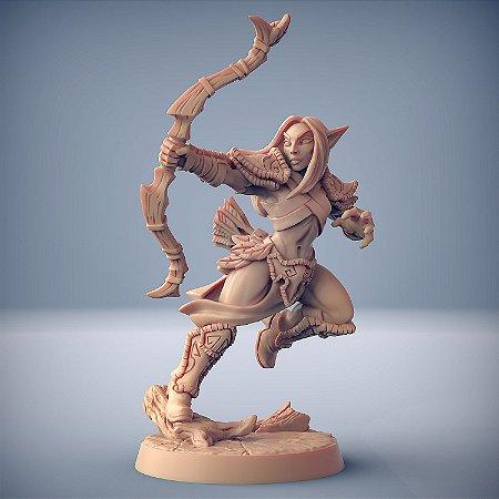 """Elfo """"C"""" - Elfos da Mata Profunda - Miniatura Artisan Guild"""