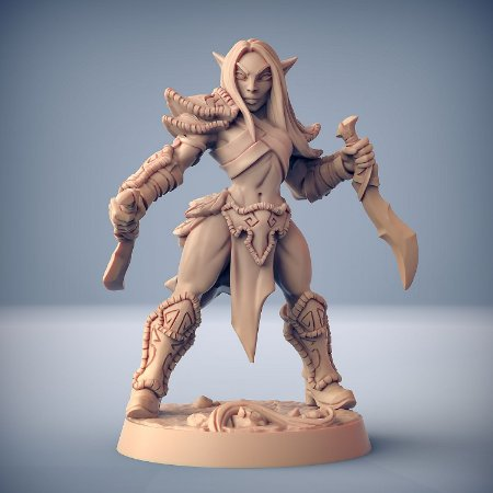 """Elfo """"D"""" - Elfos da Mata Profunda - Miniatura Artisan Guild"""