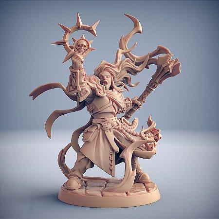 Ágata, Pilar da Fé - Irmandade do Réquiem - Miniatura Artisan Guild