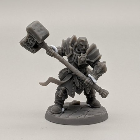 """Templário """"B"""" - Irmandade do Réquiem - Miniatura Artisan Guild"""