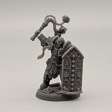 """Templário """"C"""" - Irmandade do Réquiem - Miniatura Artisan Guild"""