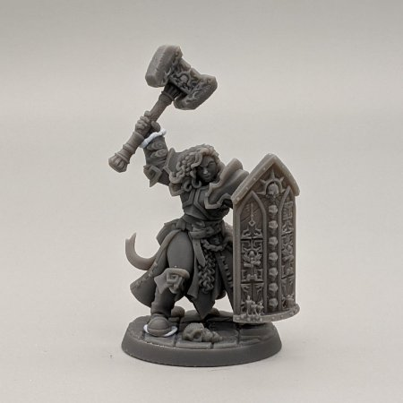 """Templário """"F"""" - Irmandade do Réquiem - Miniatura Artisan Guild"""