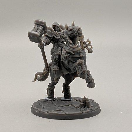 """Cavaleiro Templário """"A"""" - Irmandade do Réquiem - Miniatura Artisan Guild"""