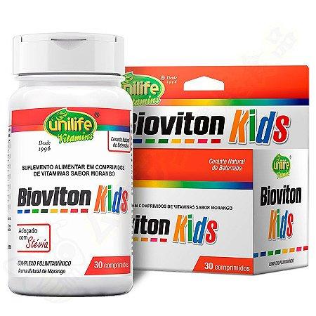 Bioviton Kids Polivitamínico c/30 comprimidos mastigáveis - Unilife