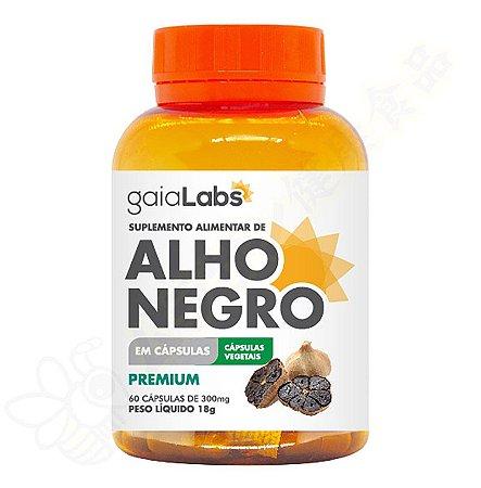 Alho Negro Premium 300mg c/60 cápsulas - Gaialabs