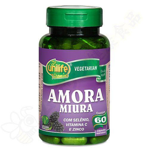 Amora Miura em cápsulas c/60 - Unilife