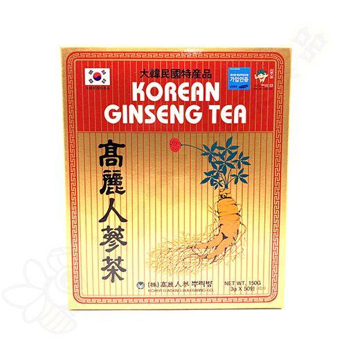Chá de Ginseng Coreano em sachê instantâneo c/50 - Korea Ginseng