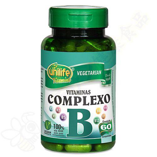 Complexo B em comprimidos c/60 - Unilife