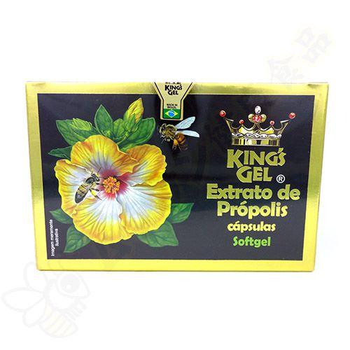 Extrato de Própolis Verde em Cápsulas 6 caixas c/95 cada - Kings Gel