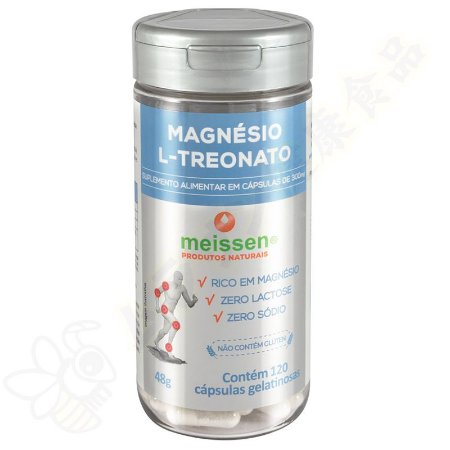 Magnésio L-Treonato em cápsulas c/120 - Meissen