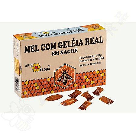 Mel com Geleia Real em sachês 144g - Apis Flora