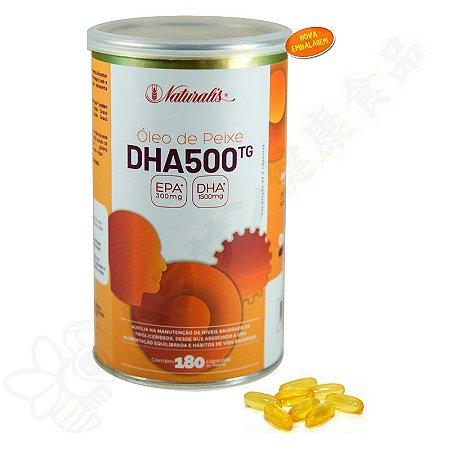 Omega-3 DHA 500 c/180 Cápsulas 100% TG - Naturalis
