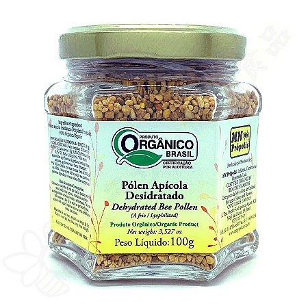 Pólen Apícola Liofilizado (Desidratado a frio) Orgânico 100g - MN Própolis