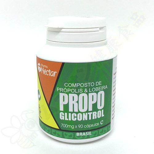 Propoglicontrol (Própolis + Lobeira) em cápsulas c/90 - Pharma Néctar