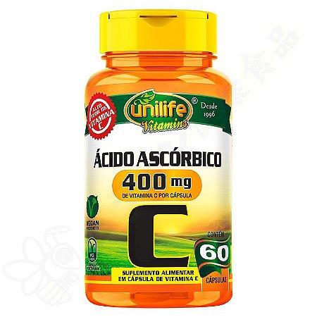 Vitamina C 400mg c/60 - Unilife