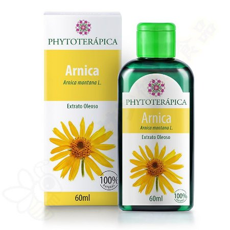 Extrato Oleoso de Arnica 60ml - Phytoterápica