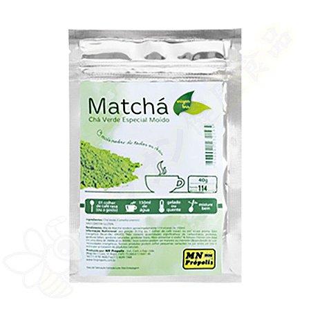 Matchá (Chá Verde Moído Especial) 40g - MN Própolis