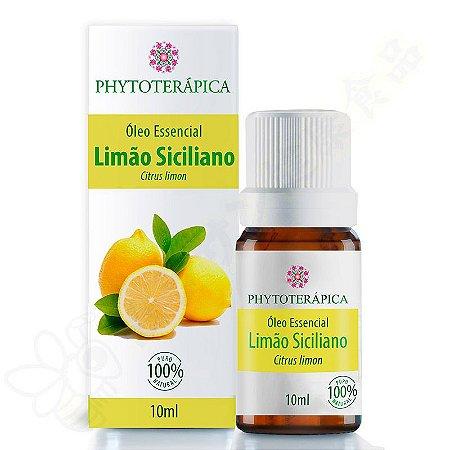 Óleo Essencial de Limão Siciliano 10ml - Phytoterápica
