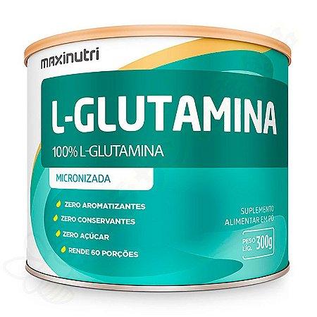 L-Glutamina Micronizada 300g - Maxinutri