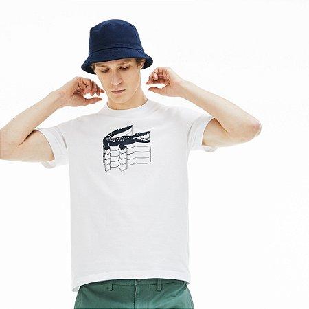 Camiseta Lacoste Branca