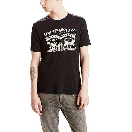 Camiseta Levi's Logo 2 Horse Preta