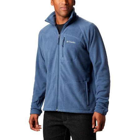 Jaqueta Columbia Fleece Fast Trek II Azul
