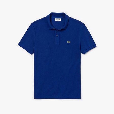 Polo Lacoste Slim Fit Azul