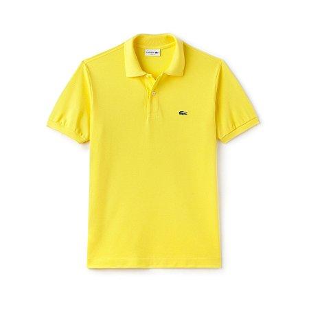 Polo Lacoste Classic Fit Amarelo