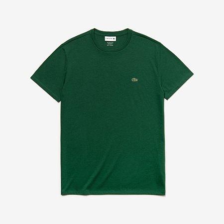 Camiseta Lacoste Masculina Regular Fit Verde