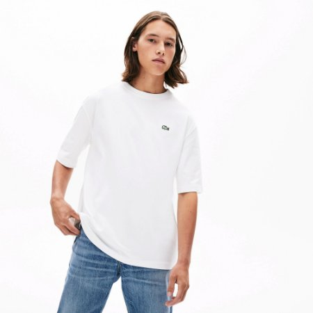 Camiseta Lacoste LIVE Branca
