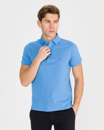 Polo Tommy Hilfiger Slim Fit Azul