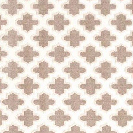Tapete Sala / Quarto / Antique / 150 /  Creme Bege Resistente e Confortável