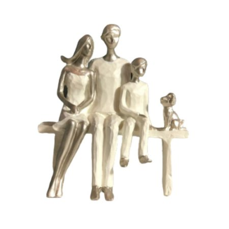 Escultura em Resina Família- R08
