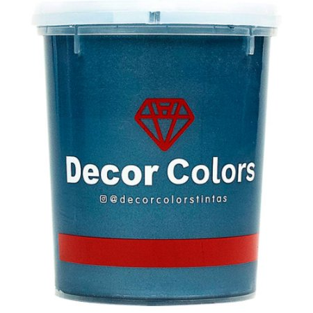 Cimento Aveludado Diamantado Safira Escuro 1,6 kg - Decor Colors