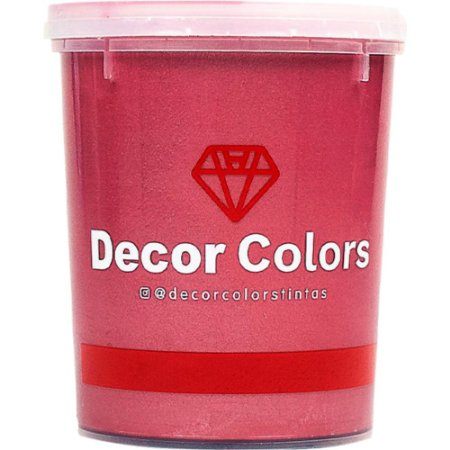 Cimento Aveludado Diamantado Rubi Marsala 1,6 kg - Decor Colors