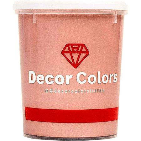Cimento Aveludado Diamantado Rose Gold 1,6 kg - Decor Colors