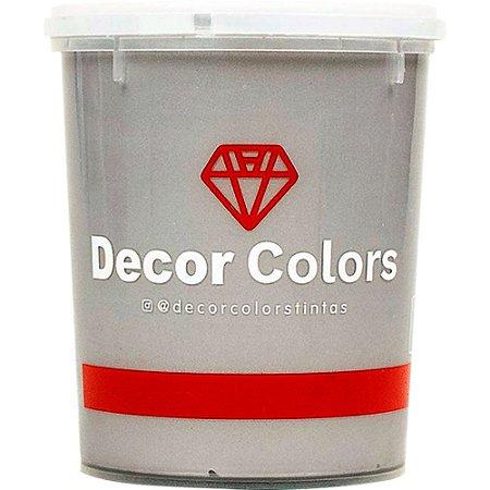 Cimento Aveludado Diamantado Prata Nobre 1,6 kg - Decor Colors